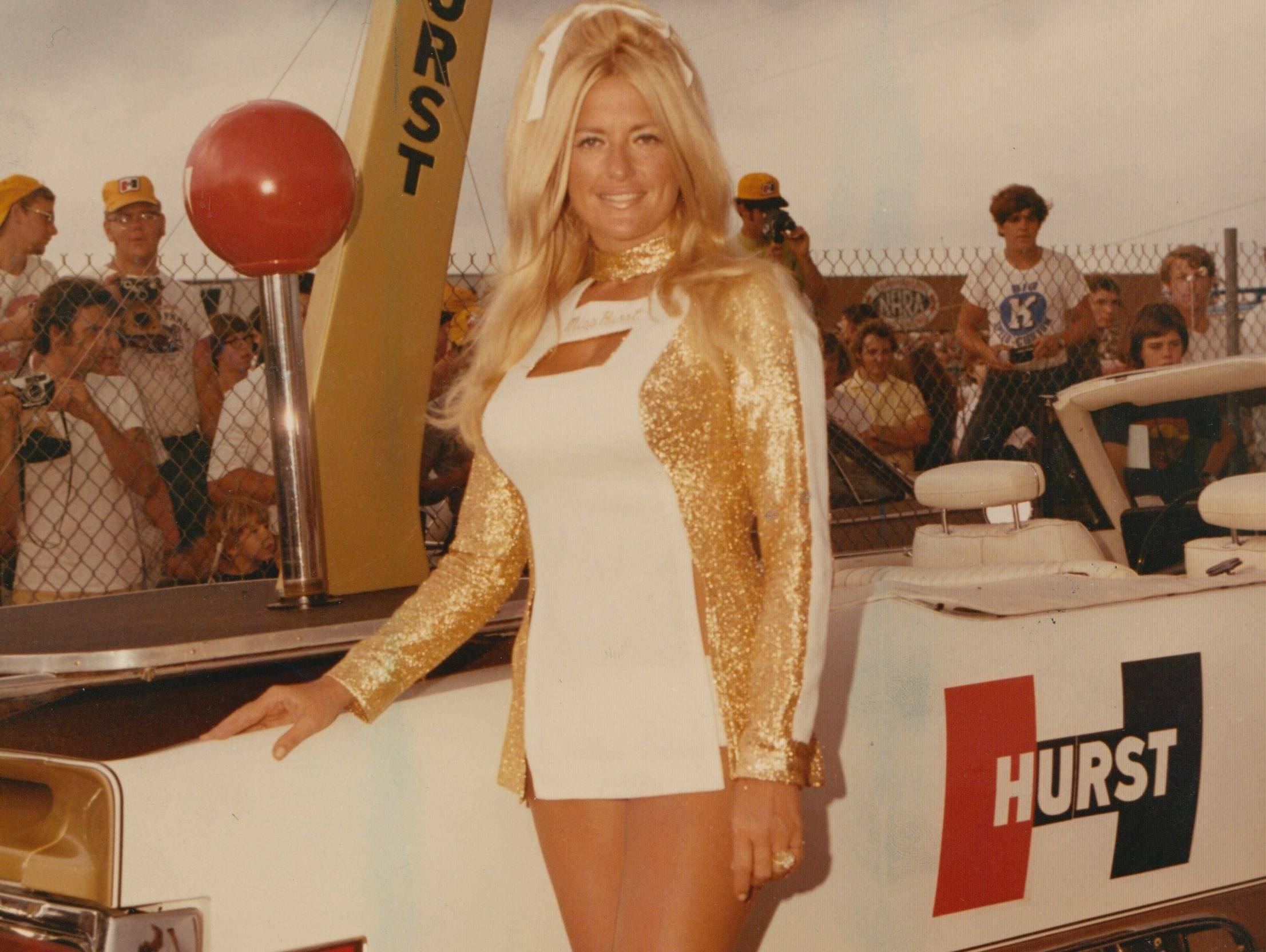 Linda Vaughn named Lady of the Century by the West Coast Stock Car Racing Hall of Fame